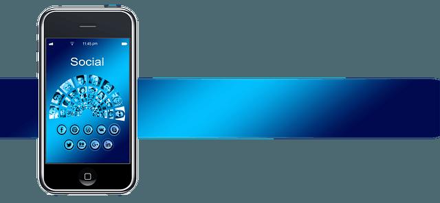 Social media mobiltelefonon